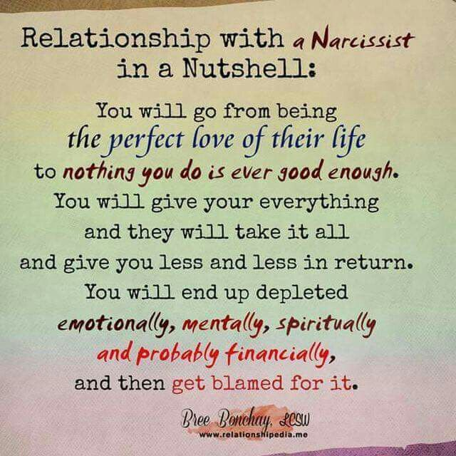 Being dumped by a narcissist
